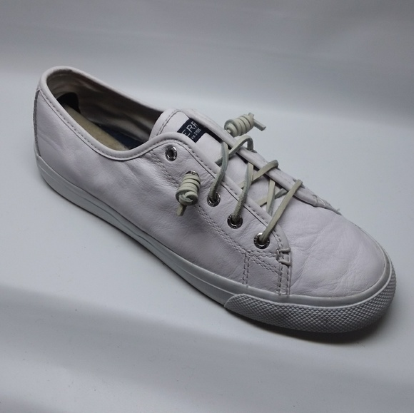 Sperry Shoes   Sperry Seacoast White